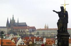 Looking Toward Prague Castle