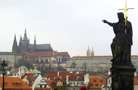 Looking Toward Prague Castle