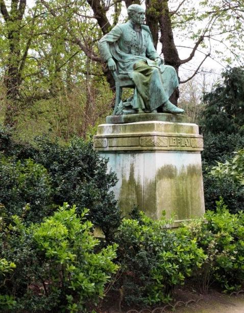 Quiet Contemplation in Jardin du Luxembourg