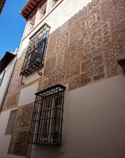 Beautiful Partially Exposed Nasrid Era Brickwork